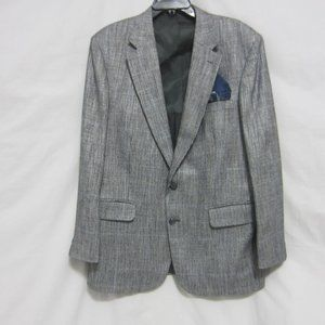 EUC MEN'S HOUNDSTOOTH STAFFORD BLAZER 42R